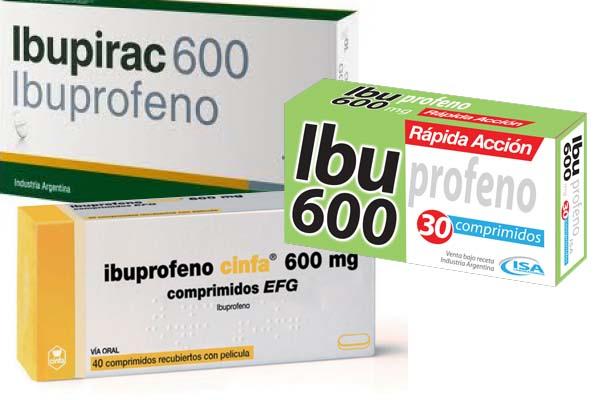 Ibuprofeno 600 contraindicaciones y efectos secundarios